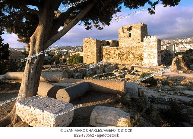 Ruins of Byblos. Lebanon
