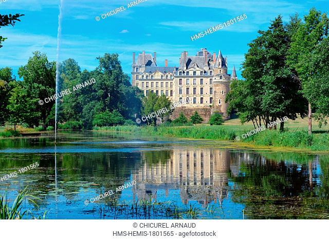 France, Maine et Loire, Brissac Quince, Chateau de Brissac