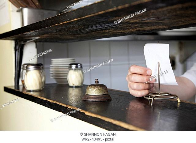 Cook checking order