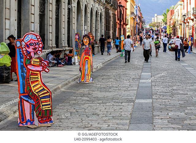 Mexico, Oaxaca, street art
