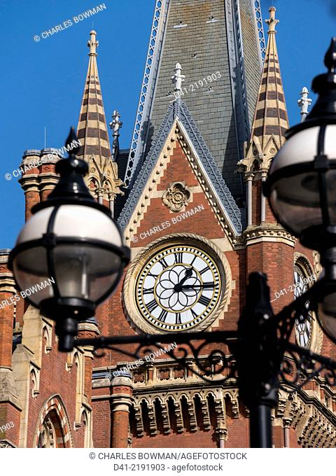 UK, England, London, St Pancras Hotel
