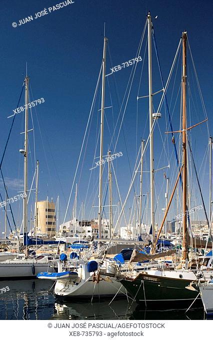 Aguadulce marina, Roquetas de Mar. Almeria province, Andalucia, Spain