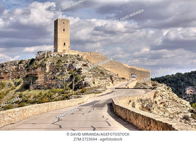 Torre de El Cañavate Tower, Alarcón, Cuenca province, Castile la Mancha, Spain. Historic and Artistic Heritage