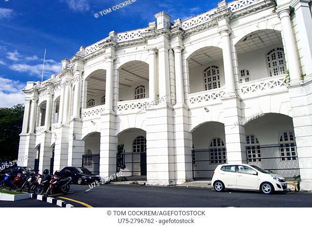 Rear of Town Hall, Ipoh, Perak, Malaysia