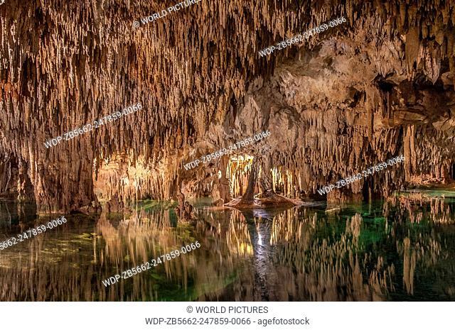 Aktun Chen nature park cave, Riviera Maya, Mexico