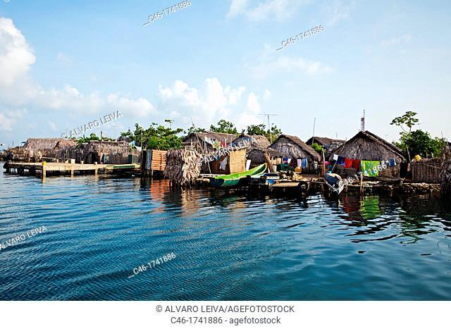 Sabalo island, San Blas Islands also called Kuna Yala Islands, Panama