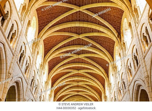 England, Devon, Buckfast Abbey, Interior View