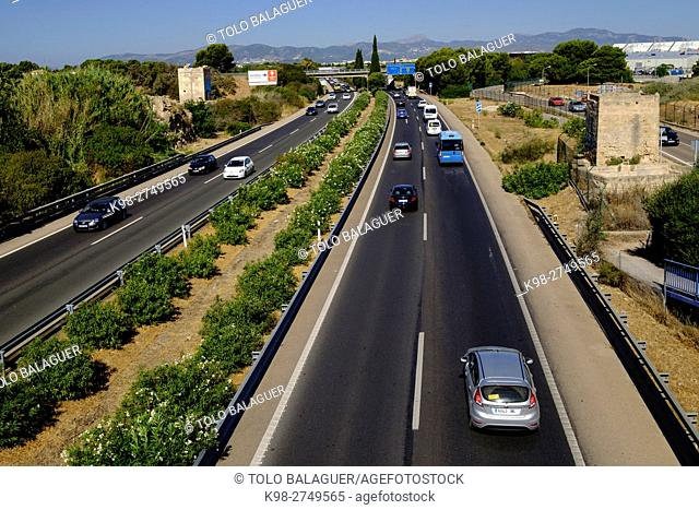 Autopista de Levante , Ma-19 ,Majorca, Balearic Islands, Spain