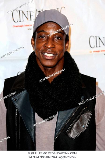 Cinemagic Los Angeles showcase preview of 'Chancer' at Fairmont Miramar Hotel - Arrivals Featuring: Shaka Smith Where: Los Angeles, California