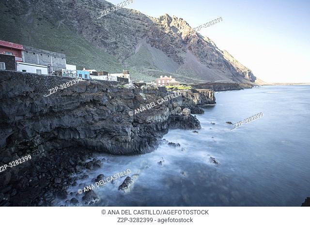 El Pozo de la Salud village Sabinosa La Frontera El Hierro Canary islands Spain on December 31, 2018