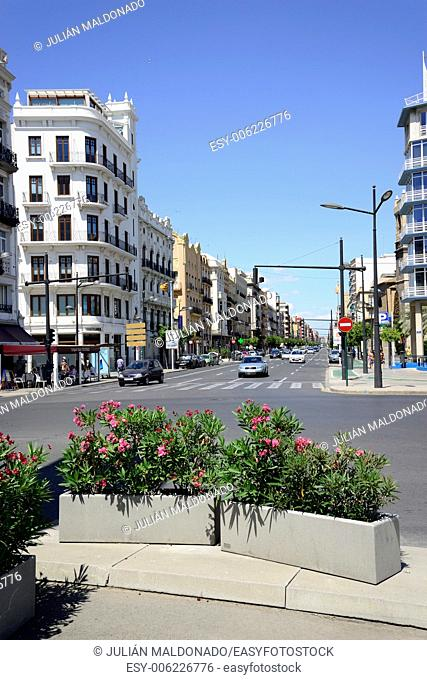 Streets of Valencia, Spain