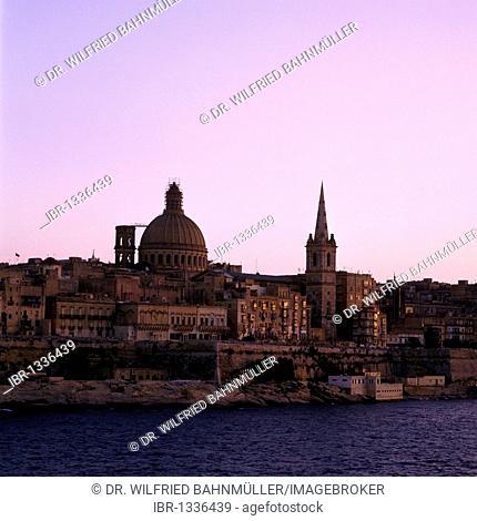 Saint Paul's Shipwreck Church, Valletta, Malta, Europe