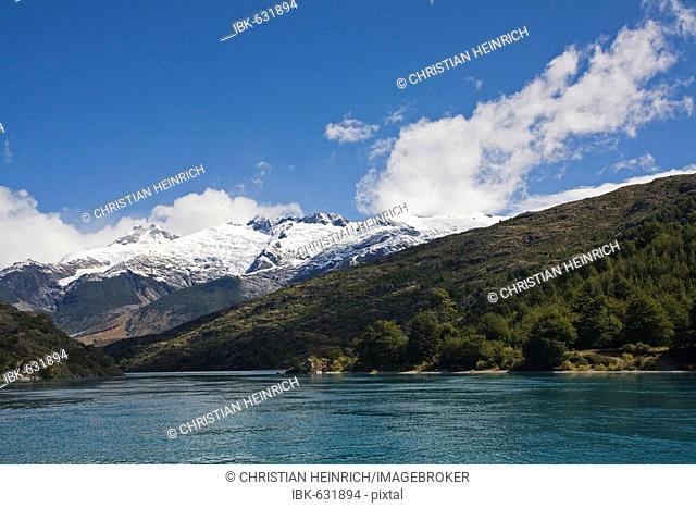 Lake Lago General Carrera (or Lago Buenos Aires at Argentinia), Patagonia, Chile, South America
