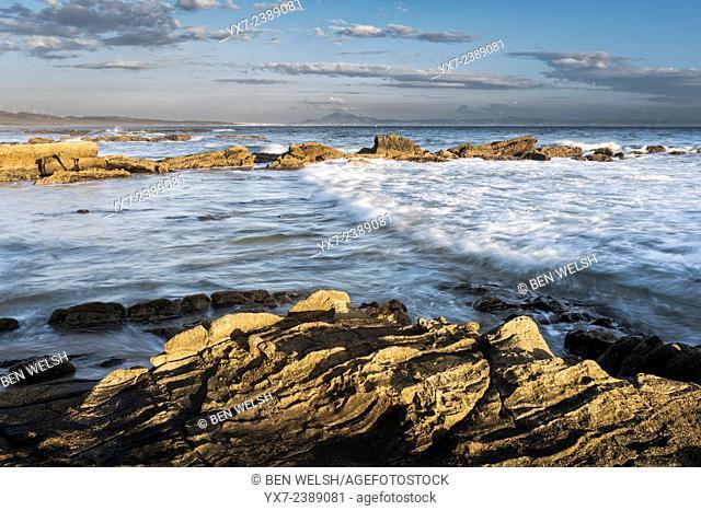 Seascape. Tarifa, Cadiz, Costa de la Luz, Andalusia, Spain