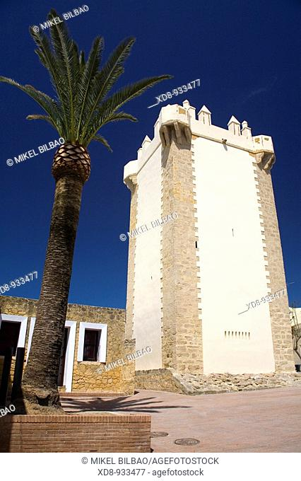 Guzman Tower  Conil de la Frontera, Cadiz, Andalusia, Spain