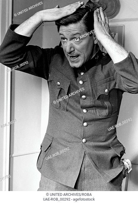 Kaisermanöver, Österreich 1954, Regie;: Franz Antel, Darsteller: Josef Meinrad