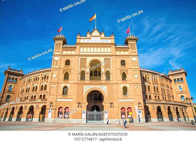 Las Ventas bullring. Madrid, Spain