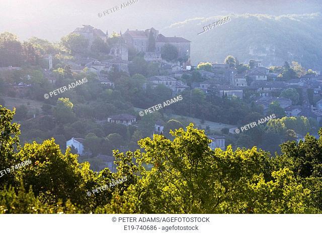 Bruniquel, Aveyron, France. Bruniquel village