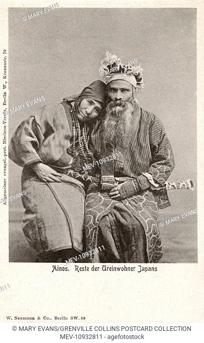 The Ainu (also called Aynu, Aino and in historical texts Ezo) - indigenous people or groups in Japan (Hokkaido) and Russia (Sakhalin and the Kuril Islands)
