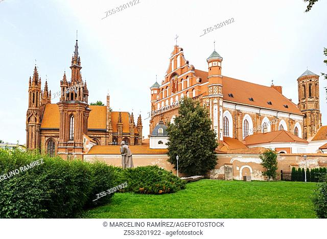 One of the most interesting examples of Gothic architecture in Lithuania. St. Anne's Church is part of an ensemble, comprising the much larger Gothic Church of...