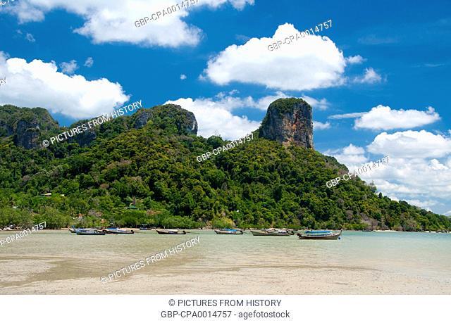 Thailand: Mangroves at Hat Rai Leh East bay, Krabi Coast