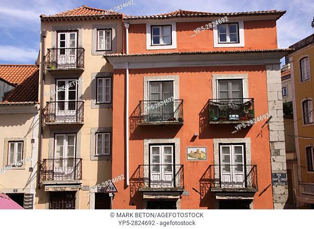 Residential Building near the Castle Alfama Lisbon Portugal
