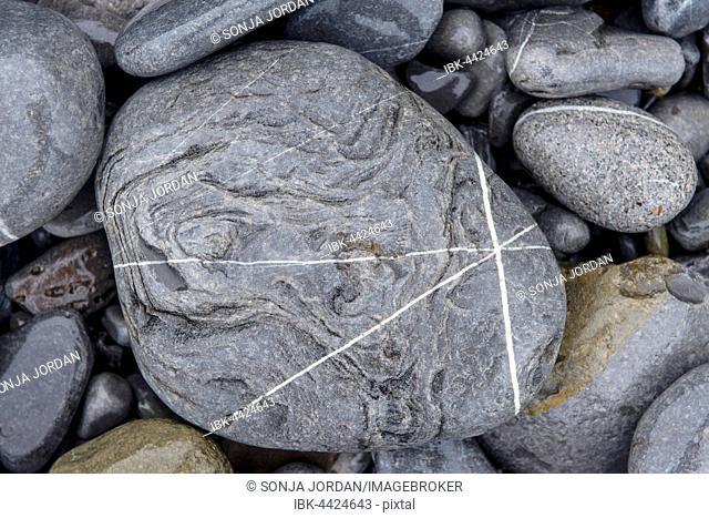Rocks, coast of Deba, Basque Country, Spain