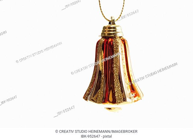 Golden bell, Christmas tree decoration