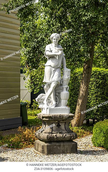 Greek sculpture garden at the Zaanse Schans, North-Holland, the Netherlands, Europe
