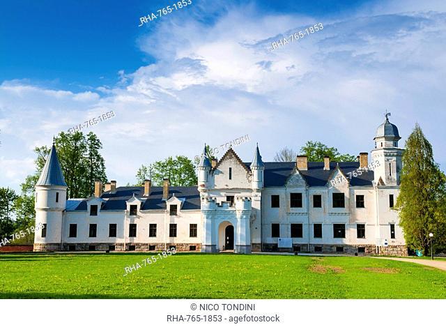 Alatskivi Loss (Castle), Tartu county, Estonia, Baltic States, Europe