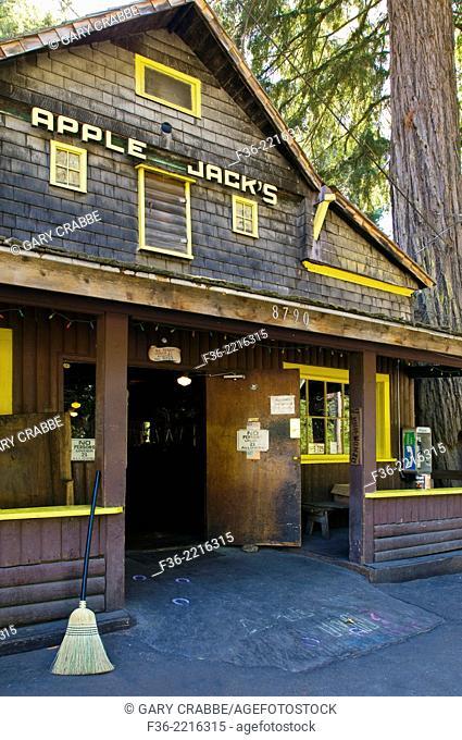 Apple Jacks country bar, La Honda, San Mateo County, California