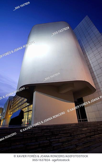 Museum of Contemporary Art of Barcelona - MACBA -, Barcelona, Spain