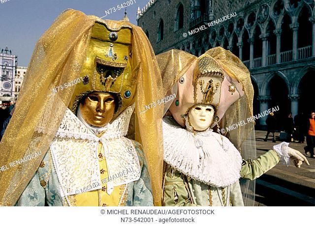 Venetian Carnival. Venice, Italy