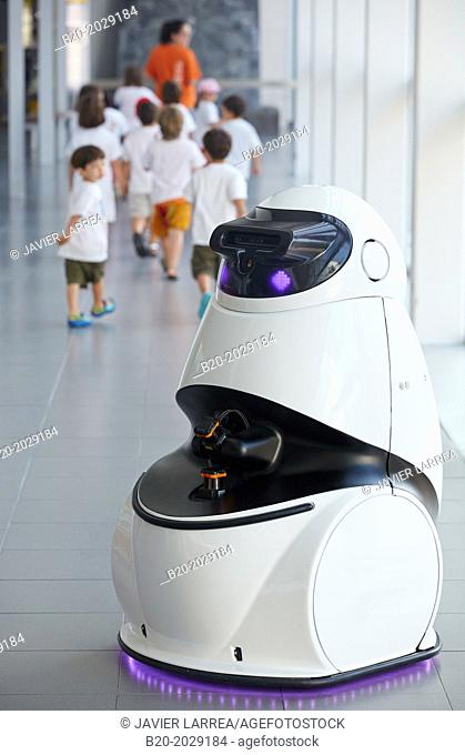 Robot. Eureka Science Museum. Donostia. San Sebastian. Gipuzkoa. Basque Country. Spain