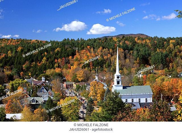 USA, New England, Vermont, Stowe