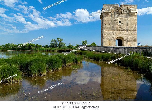 The Carbonniere Tower, Aigues Mortes, Petite Camargue, France