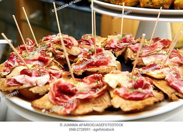 Spanish Tapas, Iberian Ham