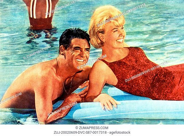1962, Film Title: THAT TOUCH OF MINK, Director: DELBERT MANN, Studio: UNIVERSAL, Pictured: DORIS DAY, CARY GRANT, DELBERT MANN
