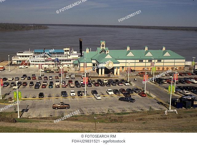 casino, Mississippi, Vicksburg, Mississippi River, riverboat, MS, Isle of Capri Casino on the Mississippi River in Vicksburg