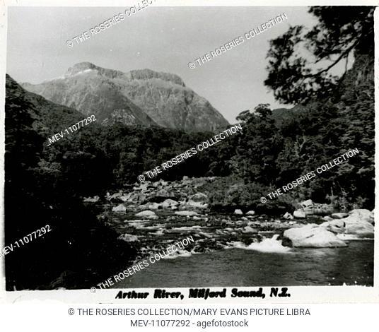 Milford Sound (Piopiotahi), South Island, New Zealand - Arthur River