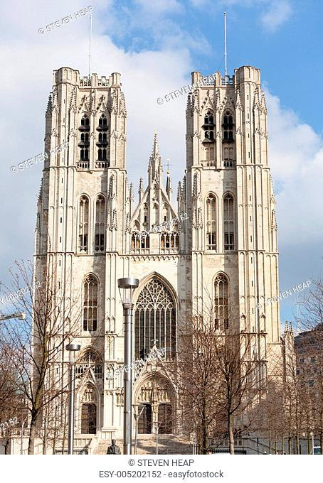 Cathedral of St Michael in Brussels