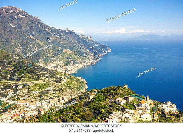 Ravello, Minori, Amalfitana, Amalfi coast, Italy