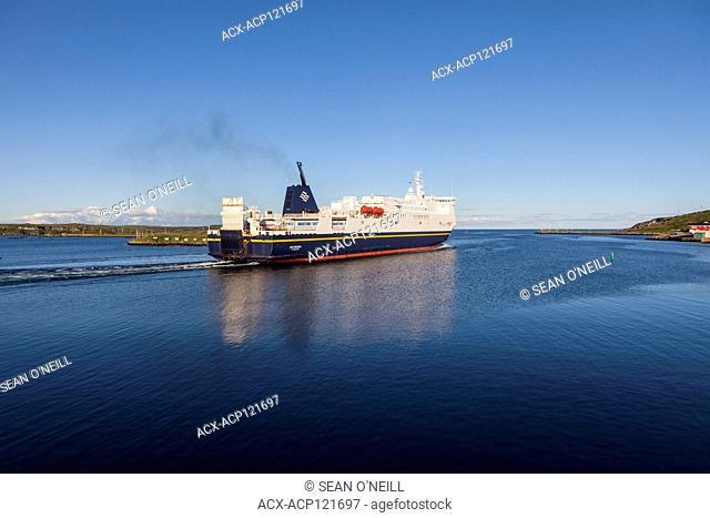 departing Marine Atlantic ferry, Port aux Basques, Newfoundland
