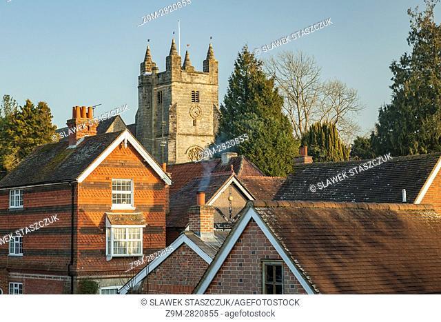 Bolney village, West Sussex, England. High Weald