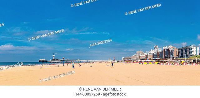 Beach, pier