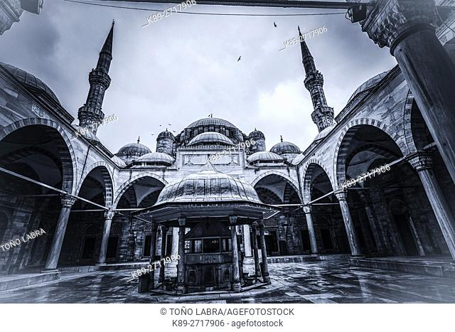 Sehzade Mosque (by Mimar Sinan). Istanbul. Turkey