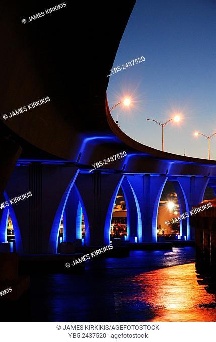 Miami Port Bridge