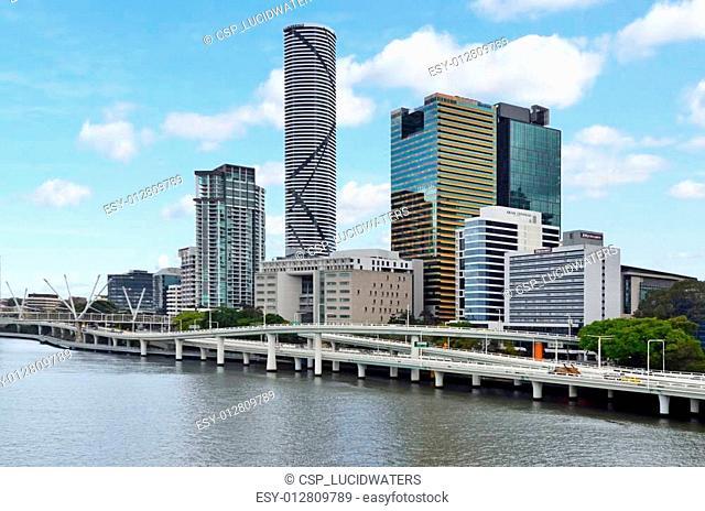 Brisbane Skyline -Queensland Australia