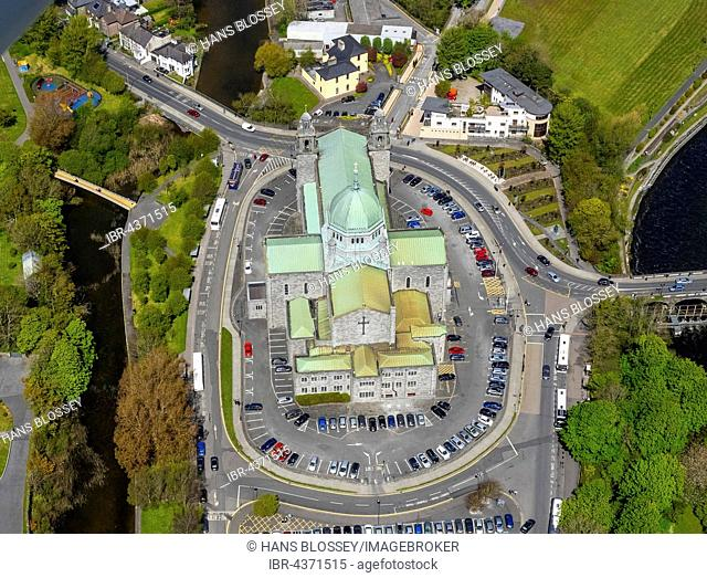 aerial view, Galway Cathedral, Galway, County Clare, Ireland