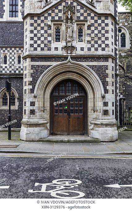 Church of St Bartholomew the Less, Smithfield, London, England, UK